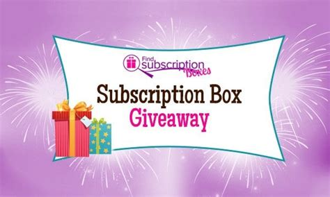weekly subscription box giveaway win 50 cash find - Subscription Giveaway