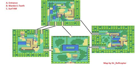 layout of safari zone in fire red optimus 5 search image pokemon fire red safari zone map