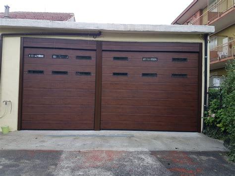 porte garage sezionali porte garage effetto legno armo caratteristiche e brochure