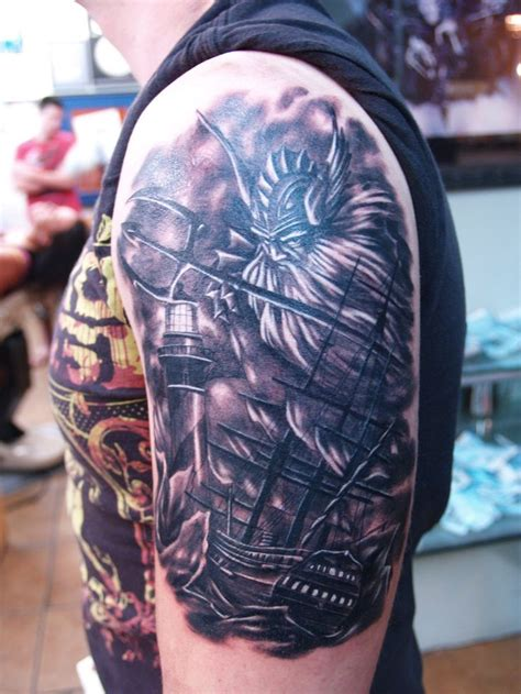 poseidon tattoos 17 best ideas about poseidon on zeus