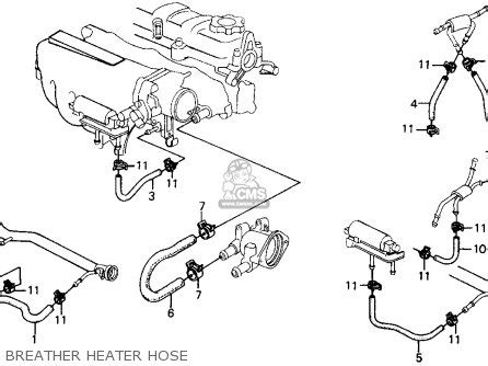honda civic d16z6 distributor diagram html