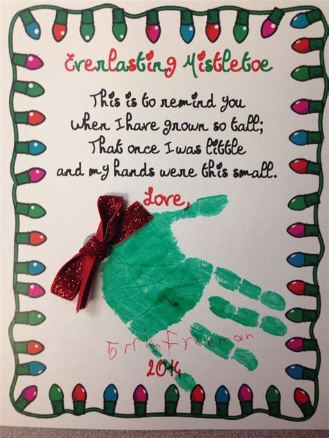 christmas love family crafts this is our and simple poem that the gave their families for the