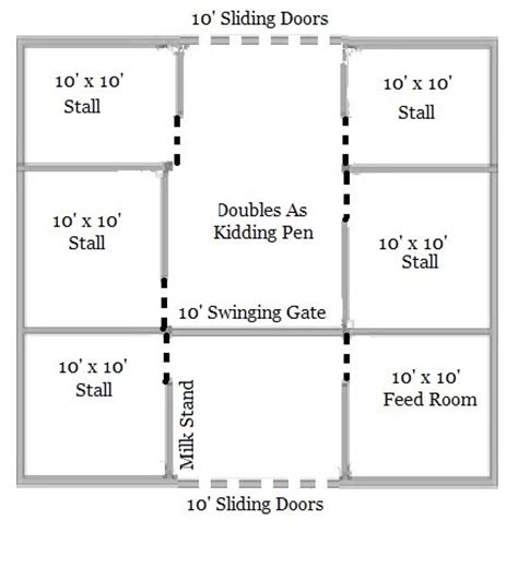 goat barn floor plans goat barn layout images