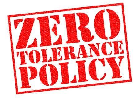 Colleaga Zero Tolerance Policy In The Workplace Template