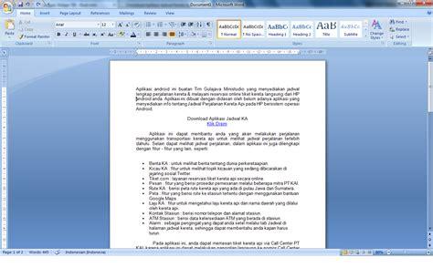 membuat navigasi pada word education blog membuat 2 kolom atau lebih pada ms word