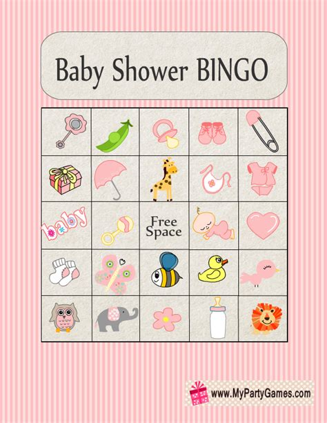 baby bingo template printable free baby shower bingo cards your guests will home