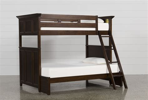 bunk loft beds dalton twin over full bunk bed living spaces