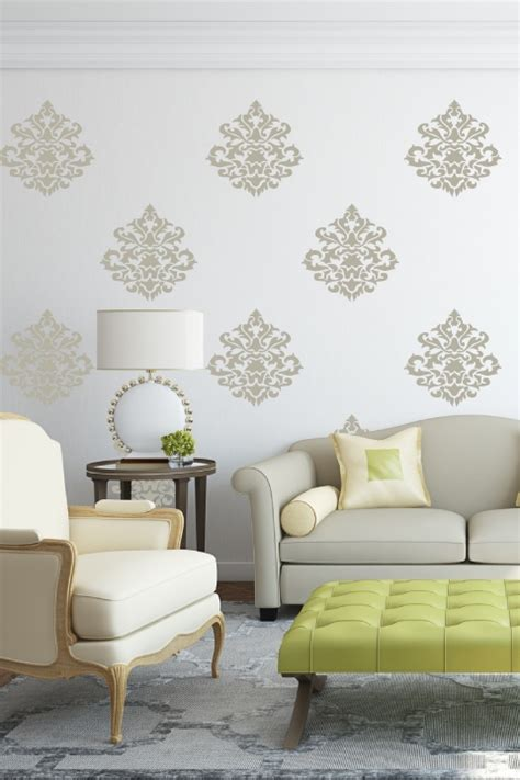 bedroom wall decal wall decals damask wall decals by damask vintage wall decals walltat com