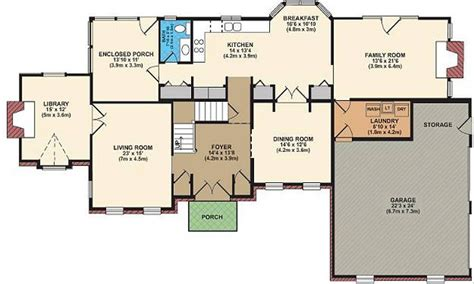 ideal layout of house best open floor plans free house floor plans house plan