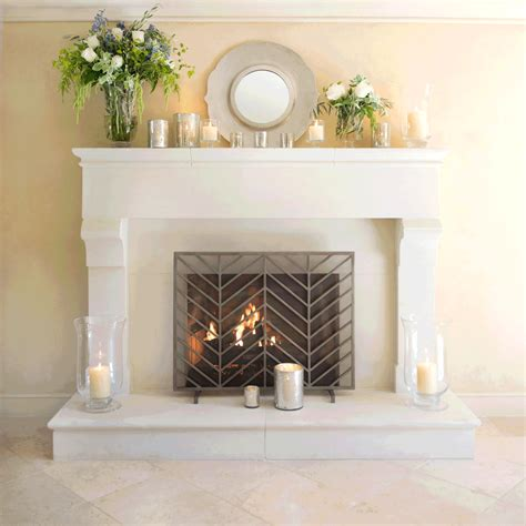 crown hurricane l chic home decor pinterest fall mantel decorating ideas crate and barrel blog
