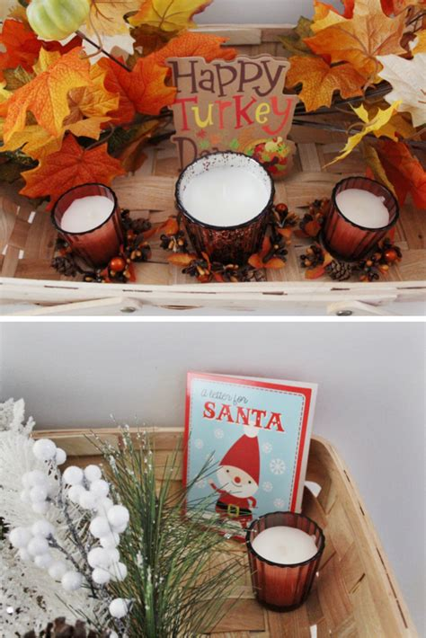 how to make your seasonal decor transition between holidays