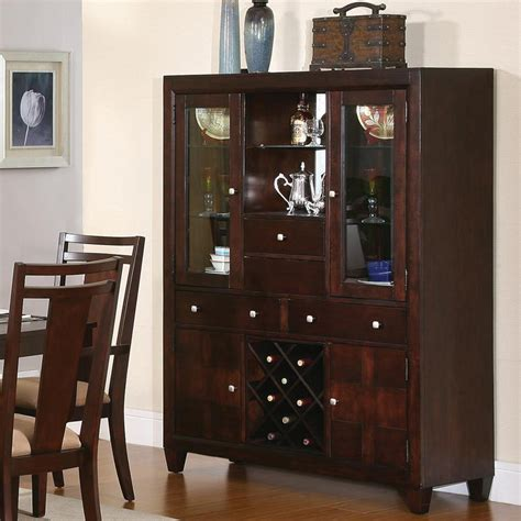 basement cabinet ideas china cabinet with wine rack small