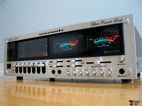 marantz cassette marantz 5220 cassette deck in pristine condition sold