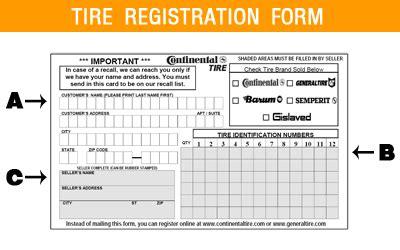registration warranty card template free for recalls register cimstireregistration 200612