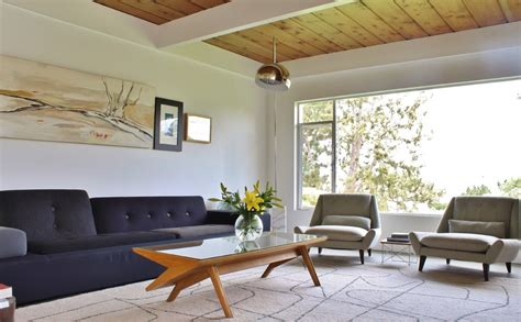 make your house a home vintage mid century modern living room ideas greenvirals
