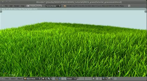 blender tutorial grass tutorialfield blogspot com december 2011