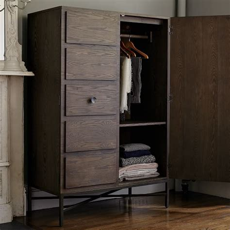 west elm armoire paneled armoire west elm