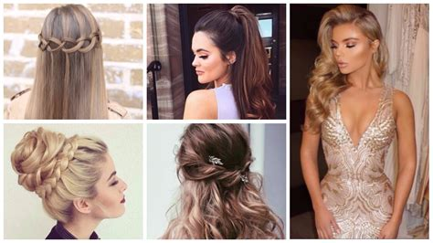 hairstyles for important events prom long hairstyles 2018 hairstyles