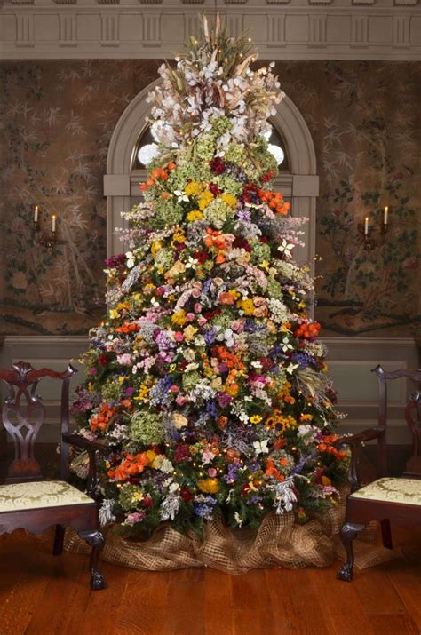 preserved flowers christmas tree christmas trees