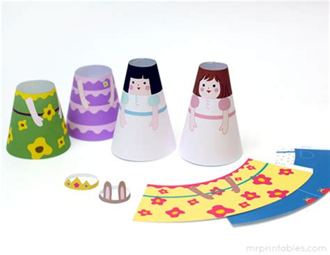 How To Make A 3d Paper Doll - printable dolls new calendar template site