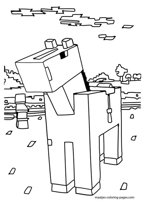 stampylongnose minecraft coloring crokky coloring pages