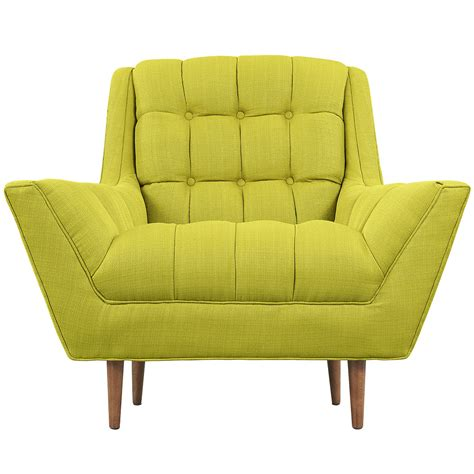 lime green armchair hued armchair modern furniture brickell collection