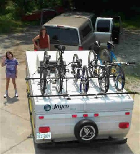Pop Up Cer Bike Rack Plans by Bike Rack For Cer Trailer Car Interior Design