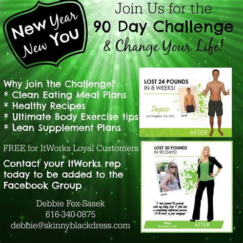 90 day challenge it works itworks 90 day challenge new year new you
