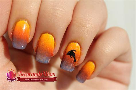 imagenes de uñas decoradas de tigre u 241 as decoradas con delfin youtube