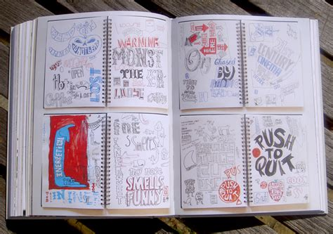 sketchbook for typography sketchbooks typetoken 174