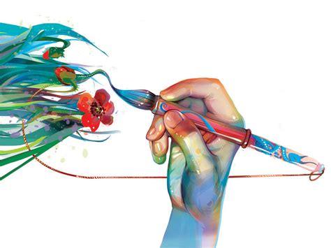 Artistic Cover for Fine Art PPT Backgrounds   3D, Design