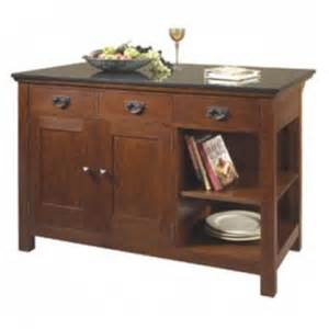 stickley mission kitchen island niagara furniture