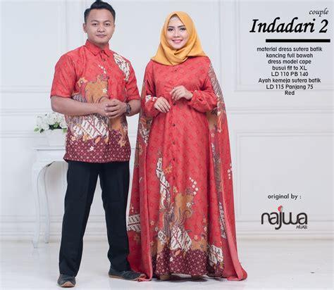 Baju Batik Kertarajasa Family 2 Ori Najwa 0822 8278 3341 batik indadari 2 syariahstore