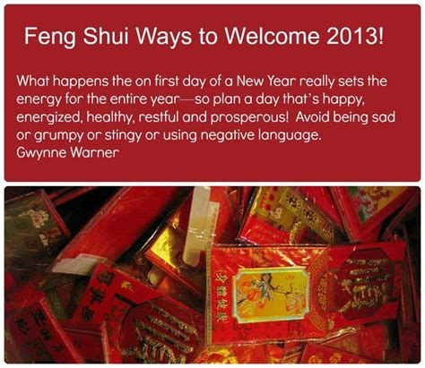 way feng shui feng shui ways to welcome the new year feng shui tips