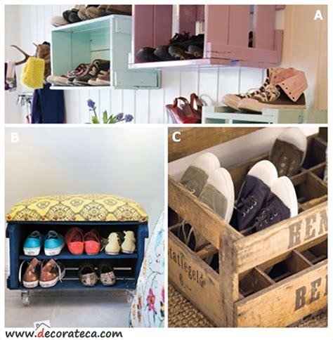 reciclar cajones de madera cajas de madera zapatero reciclaje cajas retro vintage