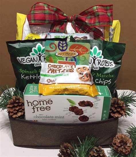 vegan holiday basket gluten free dairy free allergy free