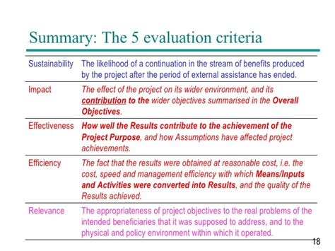 project evaluation pcm project cycle management on evaluation