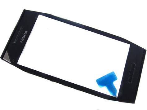 0089m06 nokia x7 00 front cover touchscreen black