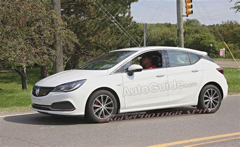 buick verano gs hatchback spied testing    autoguidecom news