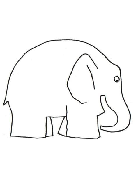 ellie elephant coloring page 1000 images about thema elmer olifant on pinterest