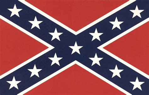 postcard confederate flag cooters