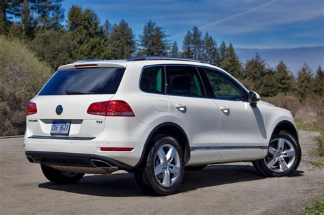 volkswagen suv 2015 used 2015 volkswagen touareg for sale pricing features