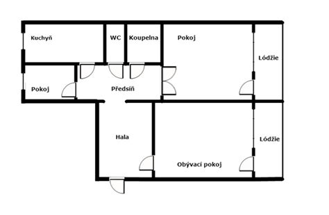 how to draw a floor plan for a house easy floor plan maker tekchi easy floor plan