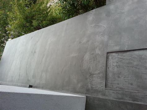 Peinture Mur Beton Exterieur by R 233 Alisations