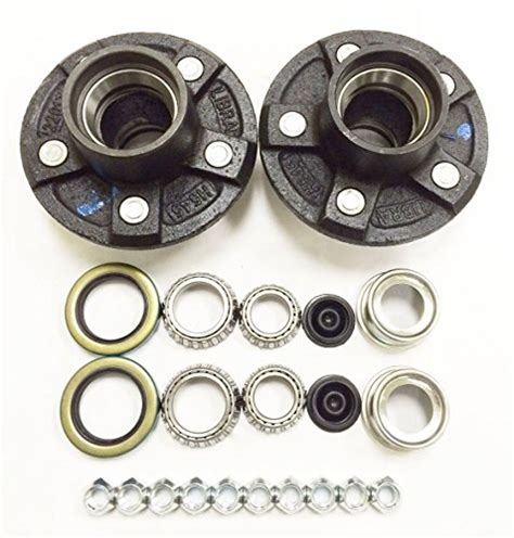 health pattern exles set of 2 trailer idler hub kits 5 on 4 5 for 3500 lbs axle