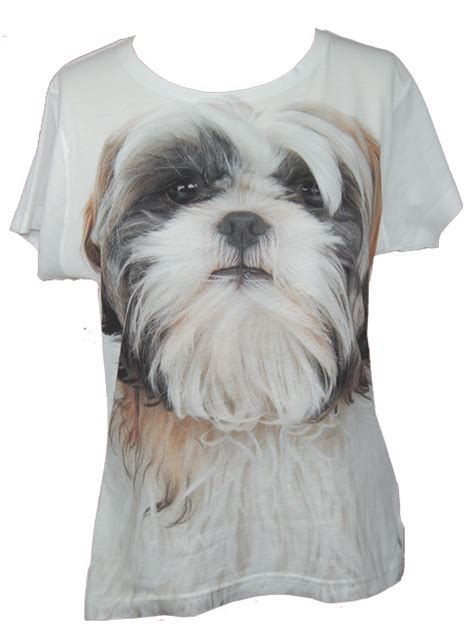 shih tzu t shirt shih tzu t shirt rescue this shih tzu t shirt front faced breeds