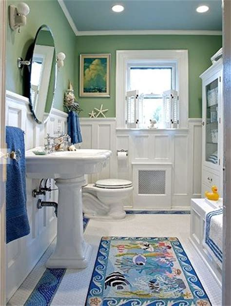 Seaside Bathroom Ideas Kid Friendly Coastal Bathroom Coastal Decor Kidspace Interiors
