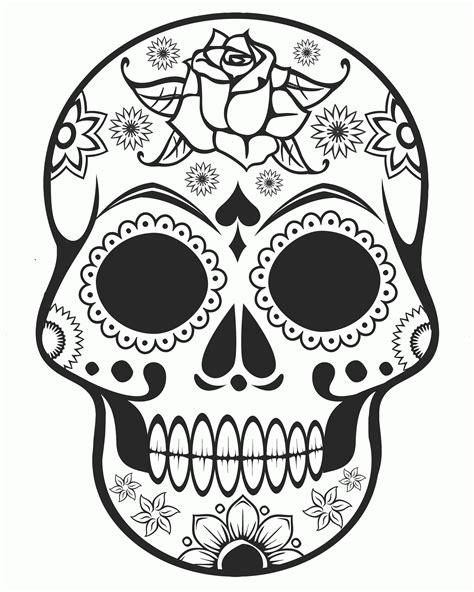 coloring pages halloween skulls halloween skull coloring pages skull coloring pages sugar