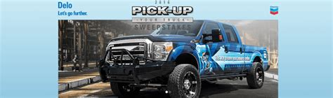 Delo Truck Sweepstakes - delo pick up your truck sweepstakes 2016