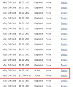 How To Check An Ebay Gift Card Balance - i just found 149 38 in unused ebay gift cards how to check if you have any miles